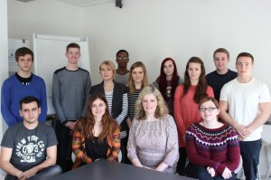 ClaireSully with digimedia apprentices