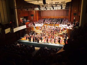 Bristol Metropolitan Orchestra amongst a cast of 350 performers of all ages.