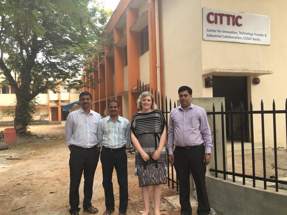 Talks at Centre of Innovation, Cochin University