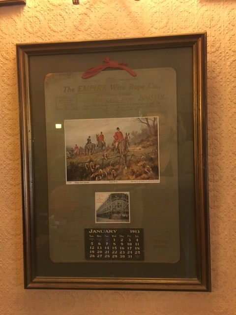 Calender dated the year 1913